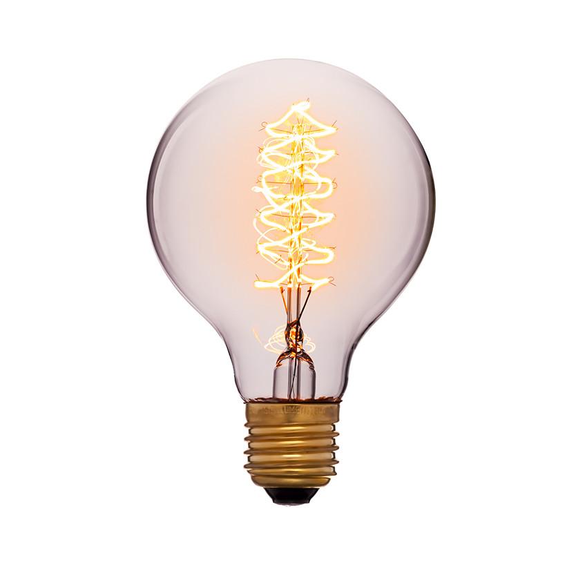 053-525 Лампа G80 24F5 60W E27 Цвет Золотой
