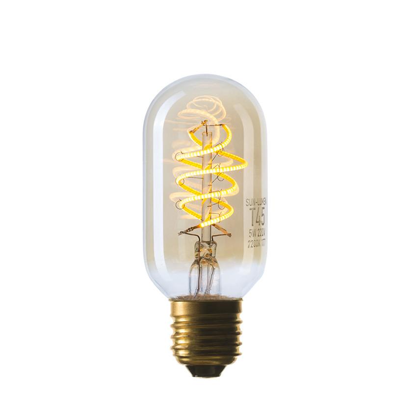 056-953 LED-Лампа T45 5W SF-8, Золотая, IC, Е27, not dim