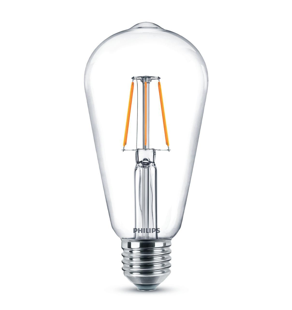 929001975008/871869962315900 Лампа LED Classic 6-60W ST64 E27 830 CLND