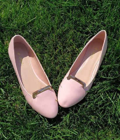 Женские розовые балетки 36-40 размер