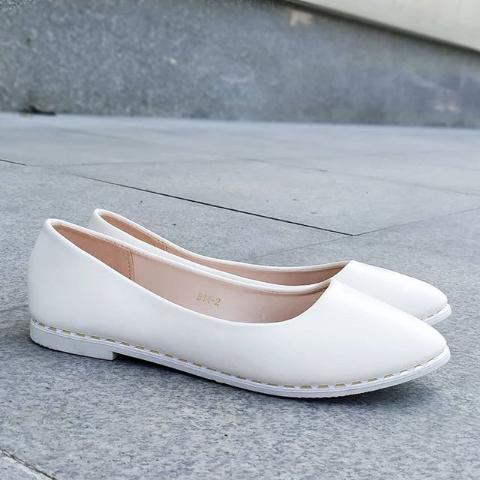 Женские бежевые балетки 36-41 размер