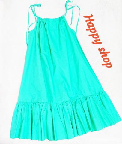 Платье-сарафан женское голубое