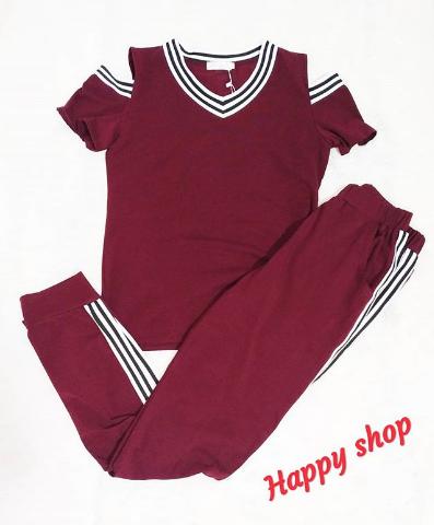 Женский бордовый спортивный костюм 42-48 размер