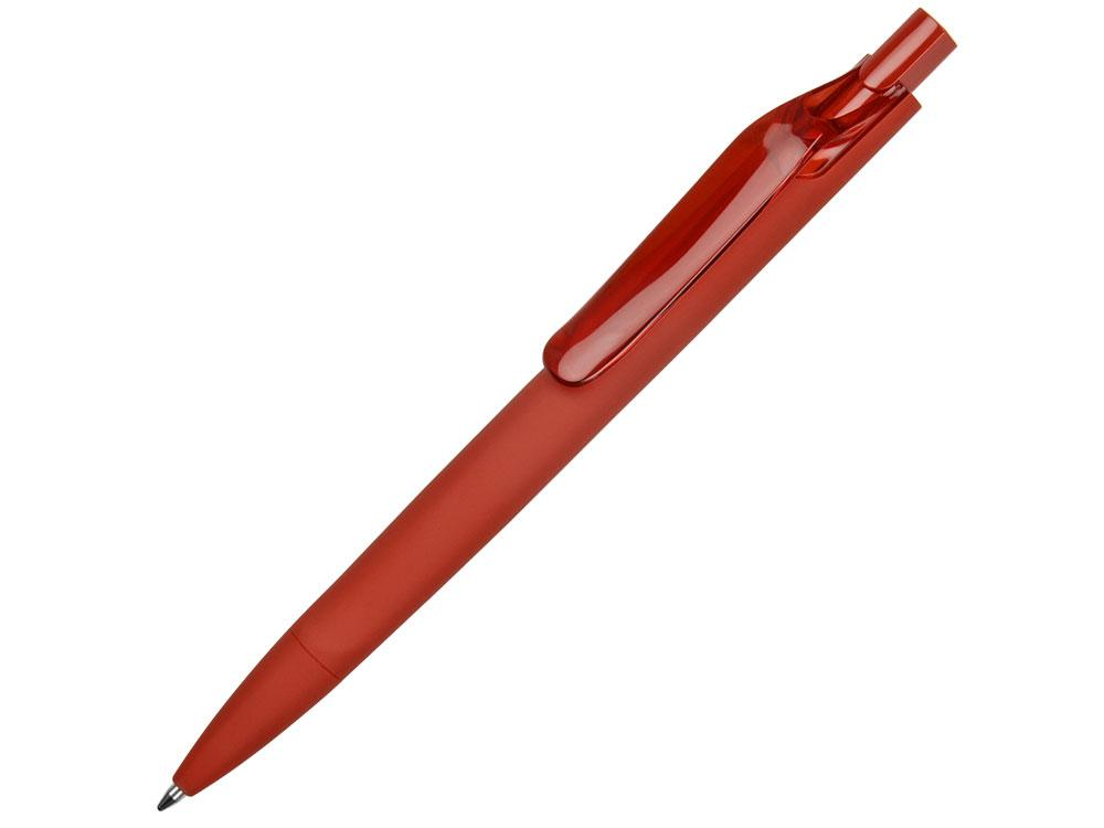Ручка пластиковая шариковая Prodir ds6prr-21 софт-тач - фото 1