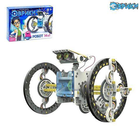 Набор для конструирования 14 экомеханических роботов «Эврики»