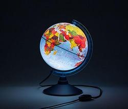 Глобус Земли интерактивный 4D Globen с VR очками и подстветкой от сети (физико-политический / 25 см), фото 2