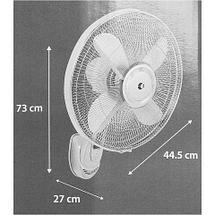 Вентилятор настенный c дистанционным управлением Equation WALLY, фото 3