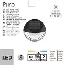 Светильник настенный на солнечных батареях «PUNO», фото 3