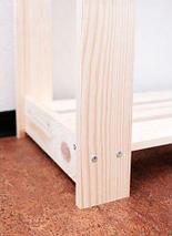 Стеллаж-этажерка деревянный Добропаровъ (Альфа), фото 2