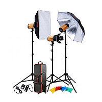 Комплект импульсного света Godox 300SDI-D Smart ( студийные оборудование)