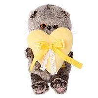 Мягкая игрушка 'Басик BABY' с сердечком, 20 см