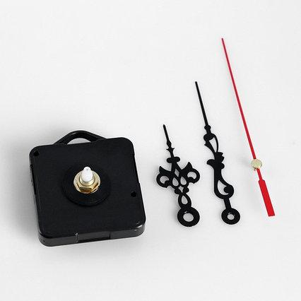 Набор, часовой механизм 3268 с подвесом и витыми стрелками, 12 × 18 см микс