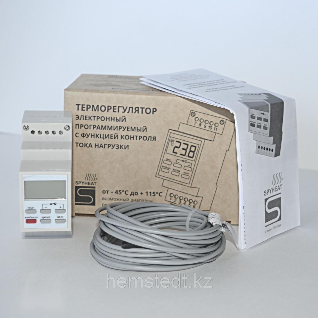 Терморегулятор AST-158-D на дин-рейку программируемый