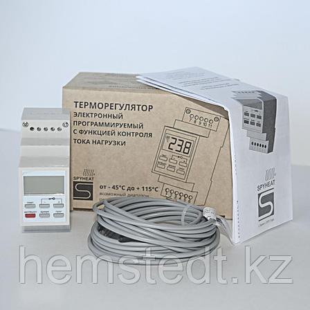 Терморегулятор AST-158-D на дин-рейку программируемый, фото 2