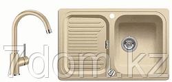 Комплект Blanco Кухонная мойка Classic 45 S Silgranit шампань + Mida шампань (521312 + 524206)