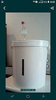 Емкость для брожения 32 литра оборудованная гидрозатвором и термометром