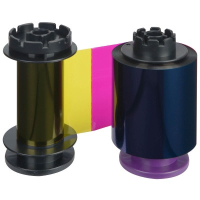 Лента полноцветная YMCKH 400 отпечатков Evolis RT5F013NAA