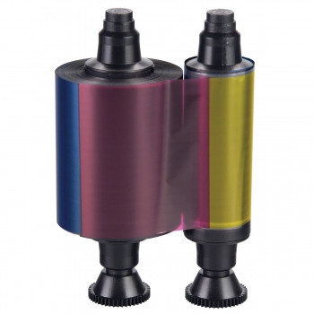 Лента полноцветная полупанельная 400 отпечатков Evolis R3013