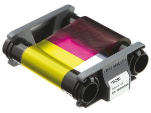 Лента полноцветная YMCKO 100 отпечатков Evolis CBGR0100C