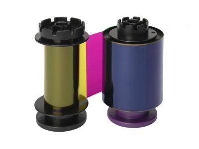 Лента полноцветная YMCK на 500 отпечатков Evolis RT4F010SAA