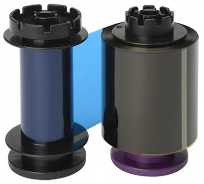 Лента полноцветная YMCKK на 400 отпечатков Evolis RT5F011SAA