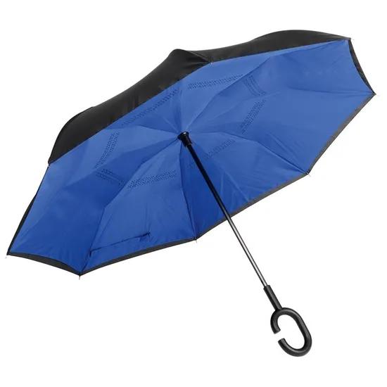 Зонт-трость FLIPPED синий