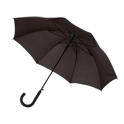 Зонт-трость WIND черный, фото 2