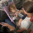 Гамак в самолет  звезды на сером, фото 7