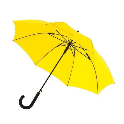 Зонт-трость WIND желтый, фото 2