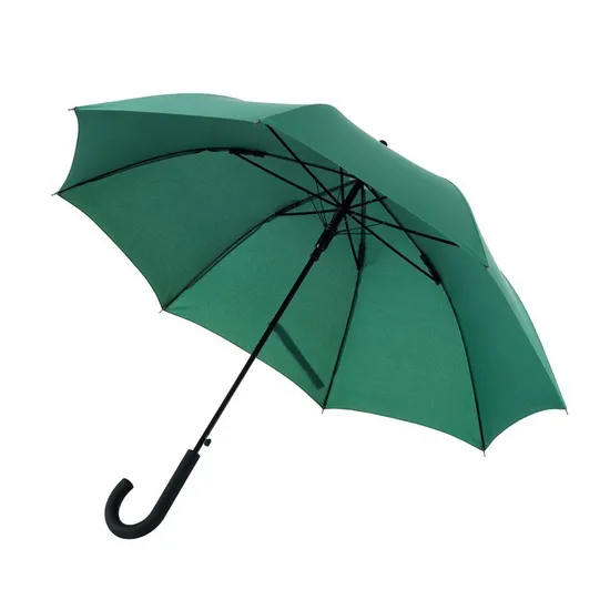 Зонт-трость WIND темно зеленый