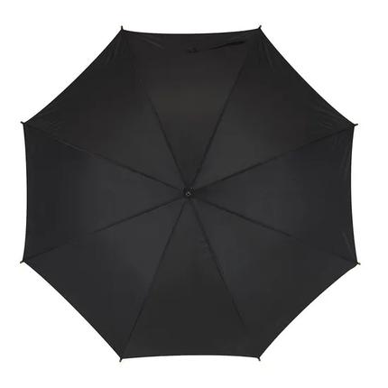 Зонт-трость FLORA черный, фото 2
