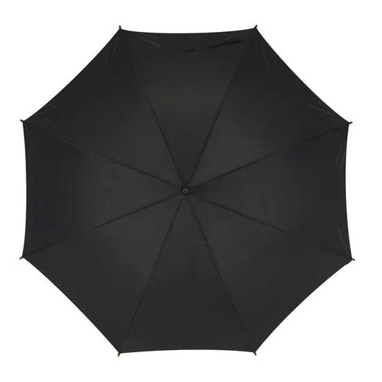 Зонт-трость FLORA черный