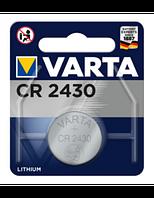Батарейки V-CR 2430 3V-280mAh