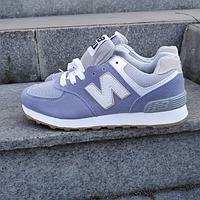 Кроссовки женские светло-синие New Balance 36-41 размер