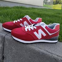 Кроссовки женские красные New Balance 36-41 размер