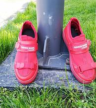 Кроссовки мужские красные 39-44 размер