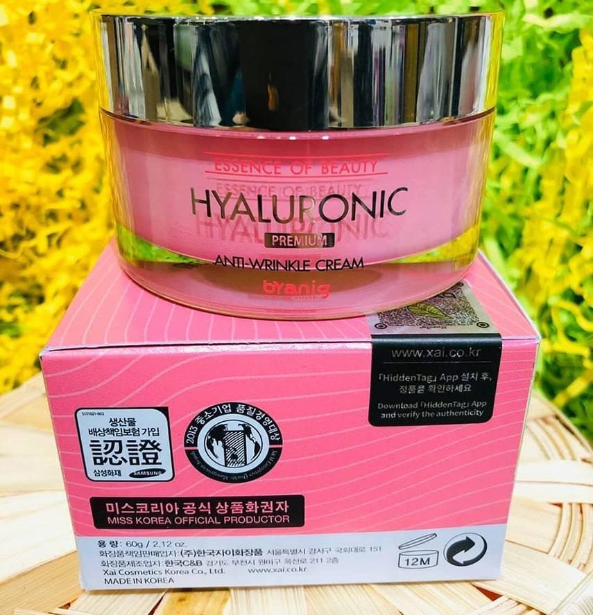 Крем Byanig Hyalronic Anti-Wrinkle Cream 60ml