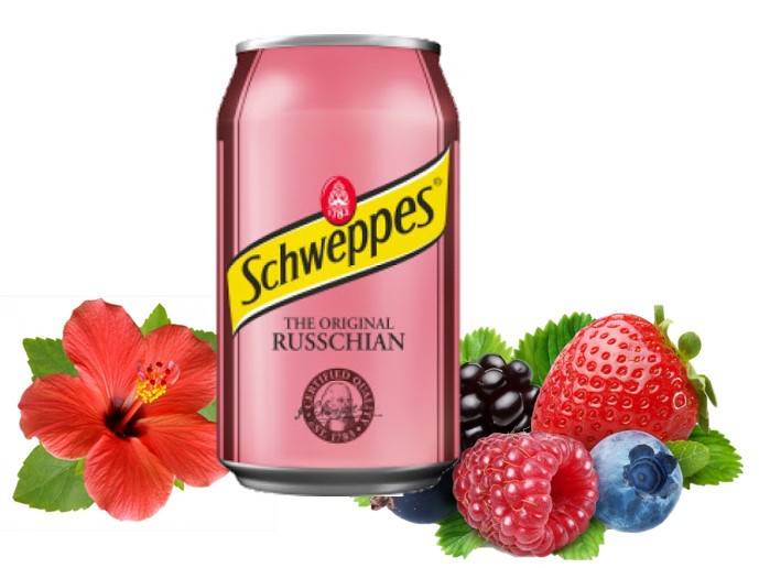 Schweppes  Russchian Руссиан 330ml (24шт-упак)