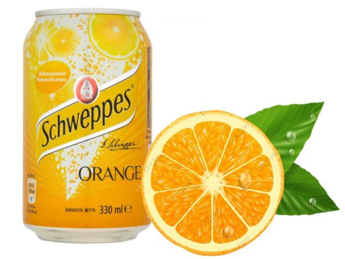 Schweppes Orange 330ml (24шт-упак)