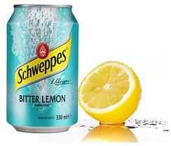 Schweppes Bitter Lemon Лимон 330ml (24шт-упак)