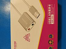 Внешняя звуковая карта-адаптер USB Z361
