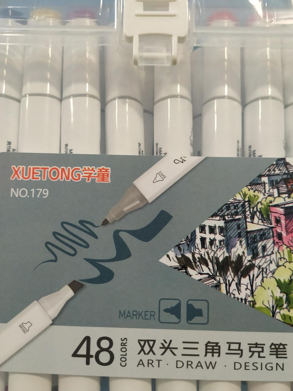 Художественные маркеры для скетчинга TOUCH mark 48 шт, АКЦИЯ!!!!Алматы - фото 3