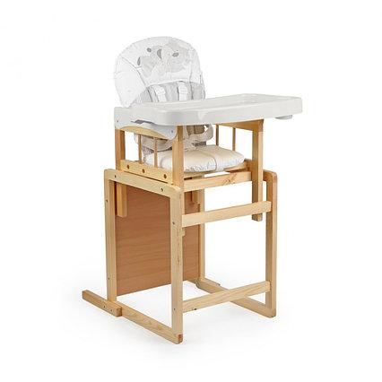 "Стол-стул для кормления ""Мишутка"" NEW (белый-арт.140302) Глобекс"
