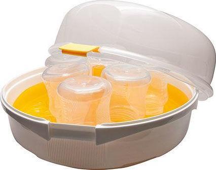 Maman Стерилизатор детских бутылочек для СВЧ печи LS-B701 (стандарт)