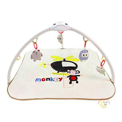 "Развивающий коврик Konig Kids ""Веселая обезьянка/Слон"" (проектор, свет, 8 мелодий) 63552"