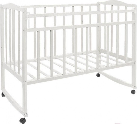 """Кровать детская """"Magico mini"""" (кол., от.пл. Кр1-01м) (белый)"""