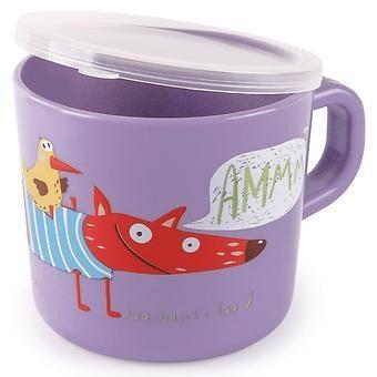 Кружка с ручкой и крышкой Happy Baby Training Cup Lavender