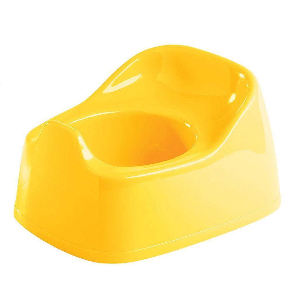 Горшок детский классический 270/220/150 мм желтый Пластишка