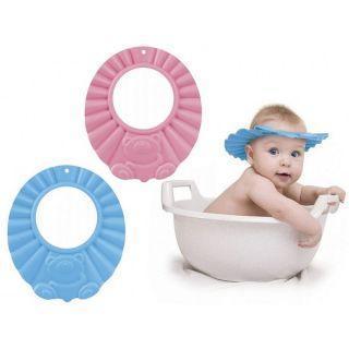 Ободок защитный для мытья волос 74/006, 0+, розовый