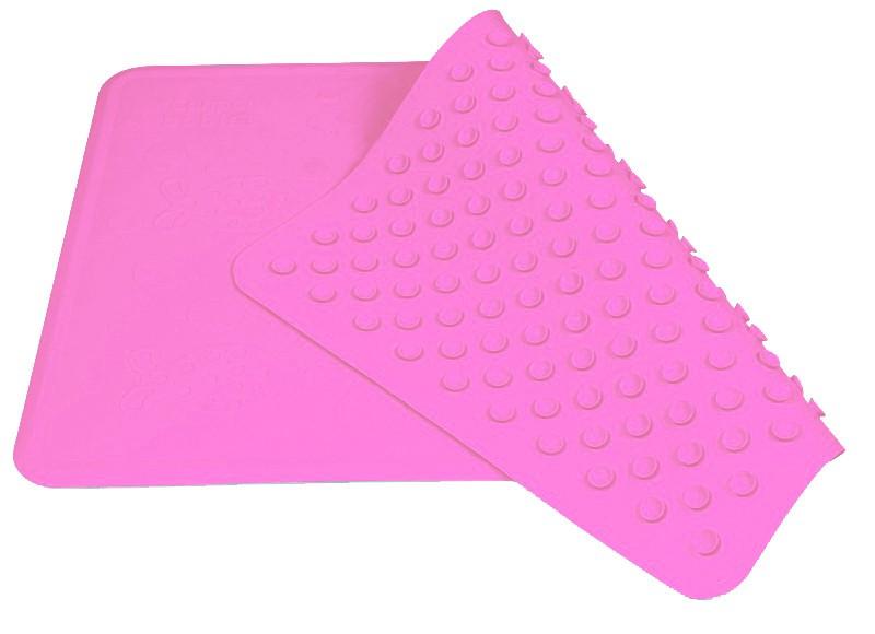 Коврик для ванны нескользящий (9/051) 34х55 см (розовый) Canpol